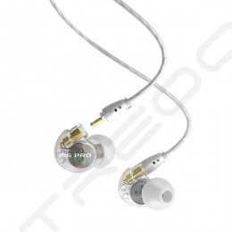 MEE Audio M6 PRO In-Ear Earphone with Mic - Clear [EX-DEMO]