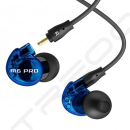 MEE Audio M6 PRO In-Ear Earphone with Mic - Limited Edition Blue