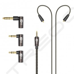 MEE Audio Universal MMCX Balanced Stranded SPC Upgrade Cable with Adapter Set