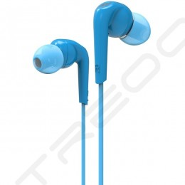 MEE Audio RX18P In-Ear Earphone with Mic - Blue