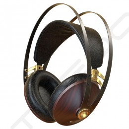 Meze 99 Classics Over-the-Ear Headphone with Mic - Walnut Gold