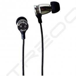 Motörheadphönes Overkill In-Ear Earphone with Mic - Silver