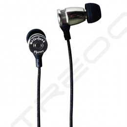 Motörheadphönes Trigger In-Ear Earphone - Silver