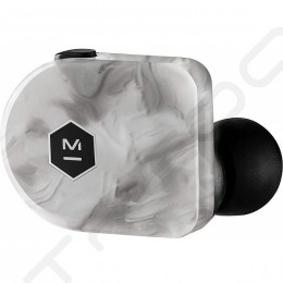 Master & Dynamic MW07 PLUS True Wireless Bluetooth Noise-Cancelling In-Ear Earphone with Mic - White Marble