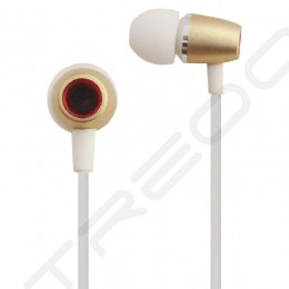 Nakamichi NMCE300 In-Ear Earphone with Mic - Gold