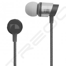 Nakamichi NMCE630 In-Ear Earphone with Mic - Silver