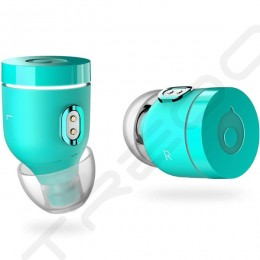 crazybaby Air (NANO) True Wireless Bluetooth In-Ear Earphone with Mic - Atlantis Green
