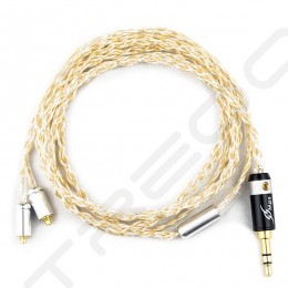 NocturnaL Audio Asteria Trimetal (Celestial Series) 4-conductor Silver+Gold Plated Copper Custom Cable