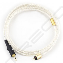 NocturnaL Audio Sirius 4-conductor Silver+Gold Hybrid Custom Cable