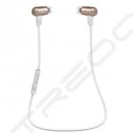 NuForce BE6 Wireless Bluetooth In-Ear Earphone with Mic - Gold