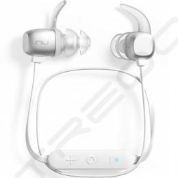 NuForce BE Sport4 Wireless Bluetooth In-Ear Earphone with Mic - Silver