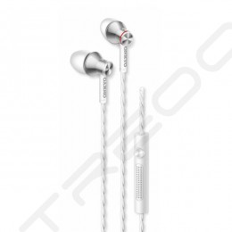 Onkyo E200M In-Ear Earphone with Mic - White
