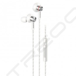 Onkyo E600M In-Ear Earphone with Mic - White
