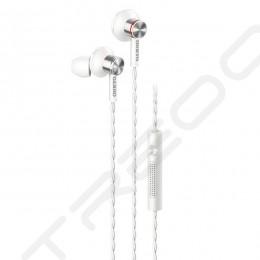 Onkyo E600M In-Ear Earphone with Mic - White