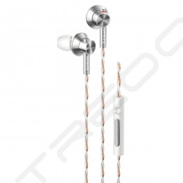 Onkyo E700M In-Ear Earphone with Mic - White