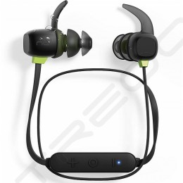 NuForce BE Sport4 Wireless Bluetooth In-Ear Earphone with Mic - Black