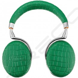 Parrot Zik 3 Wireless Bluetooth Noise-Cancelling Over-the-Ear Headphone with Mic - Emerald Green Crocodile