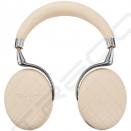 Parrot Zik 3 Wireless Bluetooth Noise-Cancelling Over-the-Ear Headphone with Mic - Ivory Overstitched