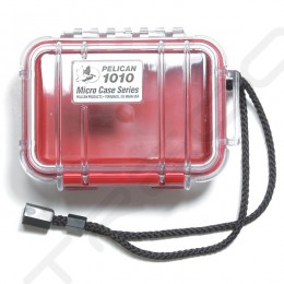 Pelican 1010 Micro Case - Clear Red