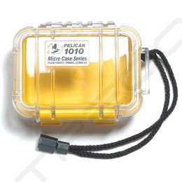 Pelican 1010 Micro Case - Clear Yellow