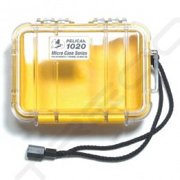 Pelican 1020 Micro Case - Clear Yellow