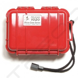 Pelican 1020 Micro Case - Solid Red