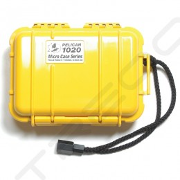 Pelican 1020 Micro Case - Solid Yellow