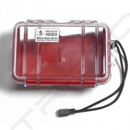 Pelican 1050 Micro Case - Clear Red