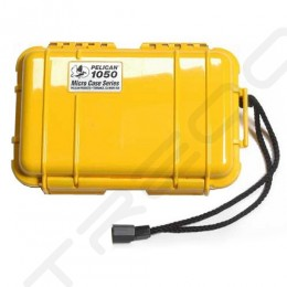 Pelican 1050 Micro Case - Solid Yellow
