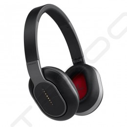 Phiaton BT 460 Wireless Bluetooth Over-the-Ear Headphone with Mic - Black