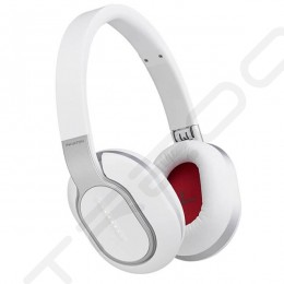 Phiaton BT 460 Wireless Bluetooth Over-the-Ear Headphone with Mic - White