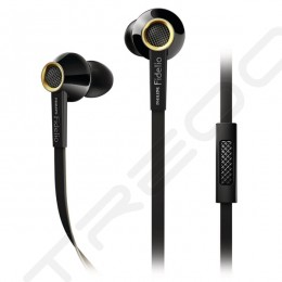Philips Fidelio S2 In-Ear Earphone with Mic - Black