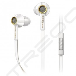 Philips Fidelio S2 In-Ear Earphone with Mic - White