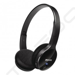 Philips SHB4000 Wireless Bluetooth On-Ear Headphone - Black