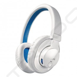 Philips SHB7000 Wireless Bluetooth Over-the-Ear Headphone - White