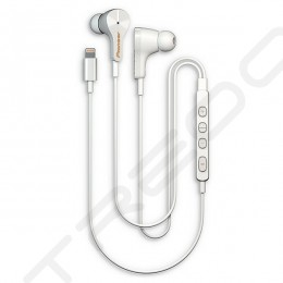 Pioneer RAYZ SE-LTC3R Noise-cancelling Lightning In-Ear Earphone with Mic - Ice