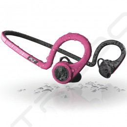 Plantronics Backbeat Fit Waterproof Neckband Wireless Bluetooth In-Ear Earphone with Mic - Fit Fuchsia