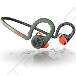 Plantronics BackBeat Fit Wireless Bluetooth Neckband In-Ear Earphone with Mic - Stealth Green