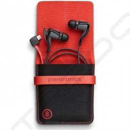 Plantronics BackBeat GO 2 + Charging Case Wireless Bluetooth In-Ear Earphone with Mic - Black