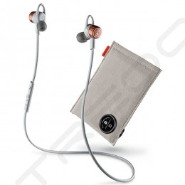 Plantronics BackBeat GO 3 Charge Wireless Bluetooth In-Ear Earphone with Mic - Copper Gray