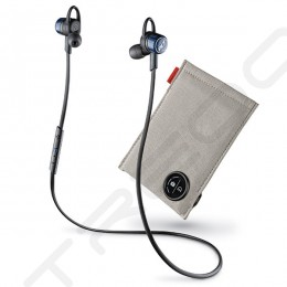 Plantronics BackBeat GO 3 Charge Wireless Bluetooth In-Ear Earphone with Mic - Cobalt Black