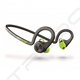 Plantronics Backbeat Fit Waterproof Neckband Wireless Bluetooth In-Ear Earphone with Mic - Black Core
