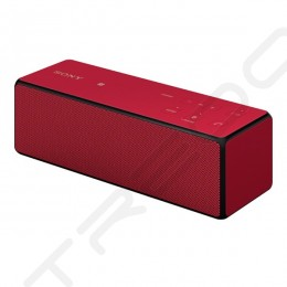 Sony SRS-X33 Portable Bluetooth Wireless Speaker - Red