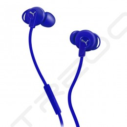 Puma Bulldog Sport-Lite In-Ear Earphone with Mic - Blue
