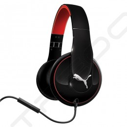 Puma Vortice Over-the-Ear Headphone with Mic - Black