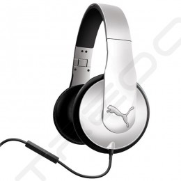 Puma Vortice Over-the-Ear Headphone with Mic - White