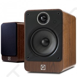 Q Acoustics 2020i Bookshelf 2.0 Speaker System - Walnut