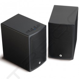 Q Acoustics Q-Media BT3 Bluetooth Powered Bookshelf 2.0 Speaker System - Black