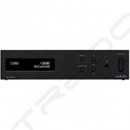 Audiolab Q-DAC Desktop Headphone Amplifier, USB DAC & Preamplifier - Black