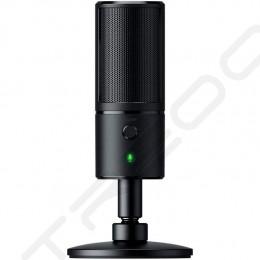Razer Seirēn X Desktop USB Microphone for Streaming - Classic Black